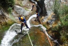 Canyoning Dans L'Hérault Au Caroux, Près De Montpellier En Languedoc-Roussillon Avec Entre 2 Nature
