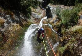 Canyoning Au Caroux Dans L'Hérault