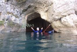 Randonnée Aquatique Au Ravin Des Arcs, Pour Un Sport De Leine Nature Qu'est Le Canyoning Dans L'Hérault Et Le Gard.