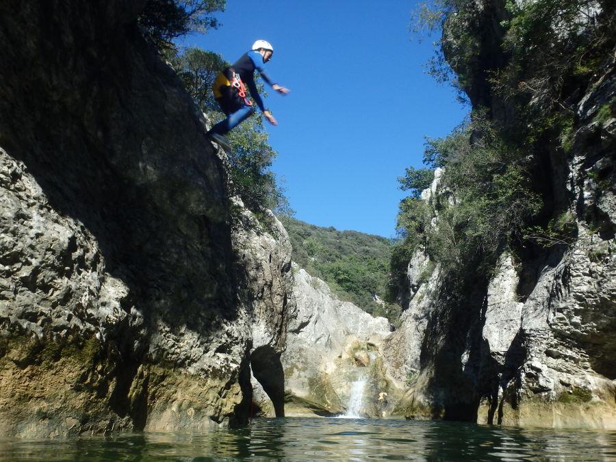 Canyon Du Ravin Des Arcs
