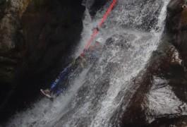 Toboggan Et Canyoning Au Tapoul, Avec Les Guides D'entre2nature, Basé à Montpellier Dans L'Hérault, En Languedoc-Roussillon