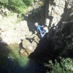 Enterrement De Vie Et Canyoning En Cévennes Près De Montpellier Dans L'Hérault Et Le Gard