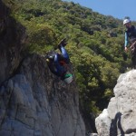 EVG En Canyoning Pour Des Sports De Pleine Nature Dans L'Hérault Et Le Gard En Languedoc-Roussillon, Près De Montpellier.