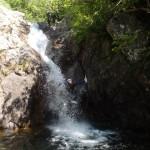 Activité De Pleine Nature Et Enterrement De Vie De Célibataire En Canyoning Dans Les Cascades D'Orgon En Cévennes Dans Le Gard, Près De Montpellier.
