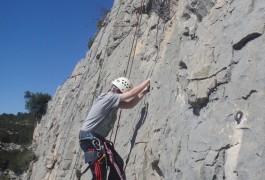 Monteur D'escalade Dans Le Languedoc-Roussillon, Pour Une Initiation Pour Débutants En Escalade. Près De Montpellier.
