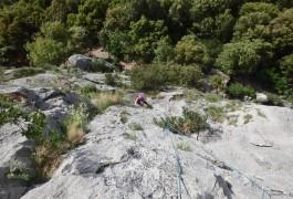Escalade Grande Voie, Près De Montpellier, Entre Les Cévennes Et Le Caroux, Avec Les Guides D'entre2nature, Spécialistes Canyons Et Escalade.