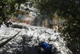 Escalade Entre Les Cévennes Et Le Caroux, Au Thaurac, Près De La Grotte Des Demoiselles à Montpellier