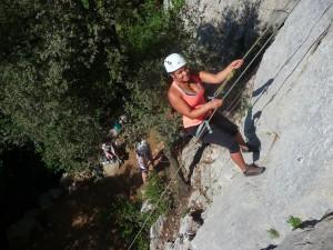 Escalade près de montpellier, dans l'hérault et le Gard en Languedoc-Roussillon