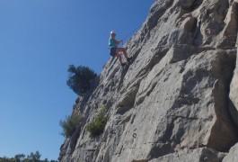 Escalade Avec Les Moniteurs Du Languedoc, à Valflaunès, Dans L'Hérault Et Le Gard