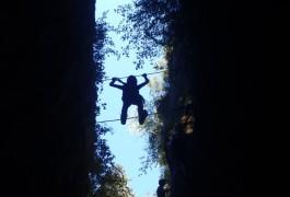 Via- Ferrata Du Thaurac Près De Ganges Et Montpellier Dans L'Hérault En Languedoc-Roussillon