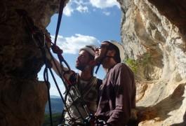 Escalade En Grande Voie, Avec Les Moniteurs De Montpellier, Dans Le Languedoc-Roussillon: Hérault Et Gard