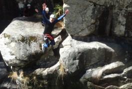 Canyoning En Languedoc-Roussillon, Près De Montpellier Dans L'Hérault. Entre Les Cévennes Et Le Caroux Pour Des Activités à Sensations