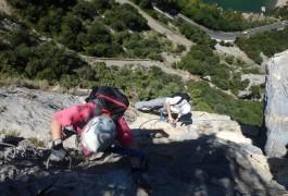 Via-ferrata En Languedoc-Roussillon Près De Montpellier Dans L'Hérault Et Le Gard Avec Des Moniteurs Spécialistes Des Activités De Pleine Nature