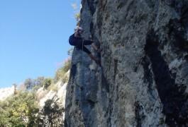 Via-ferrta Du Thaurac Et Rappel Dans Le Thaurac Avec Les Moniteurs Spécialistes De L'escalade Et Du Canyon