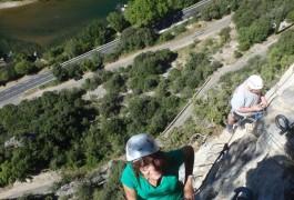 Via-ferrata Du Thaurac Pour Toute La Famille Dans L'Hérault, Près De Montpellier En Languedoc-Roussillon