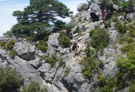 Via-ferrata Du Liaucous Et Sa Tyrolienne Géante, Aux Portes De Millau, Dans L'Aveyron, Près De Millau