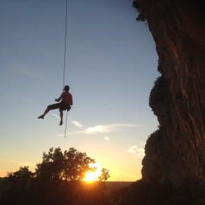 Activités de pleine nature dans l'hérault et le gard: canyoning, via-ferrata, escalade