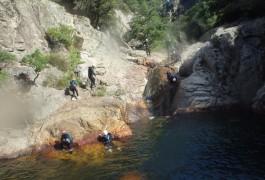 Canyoning Découverte En Initiation Pour Toute La Famille, Au Rec Grand Dans L'Hérault