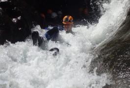 Canyoning En Cevennes Dans Le Gard, Au Canyon Du Soucy