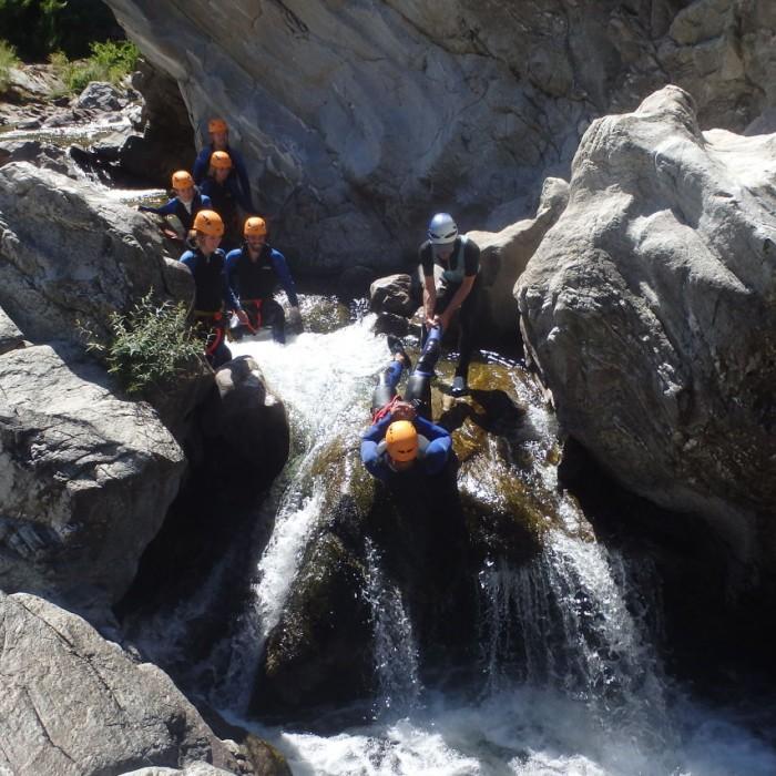 Canyoning En Cevennes Près De Saint-jean Du Gard Et Anduze
