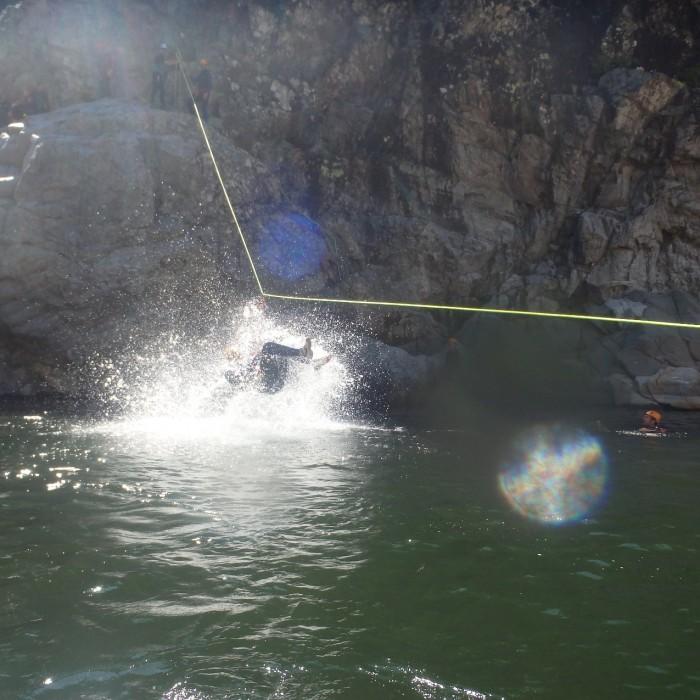 Canyoning En Cevennes Près De Saint-jean Du Gard