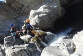 Randonnée Aquatique Dans Le Canyon Du Soucy, Près D'anduze