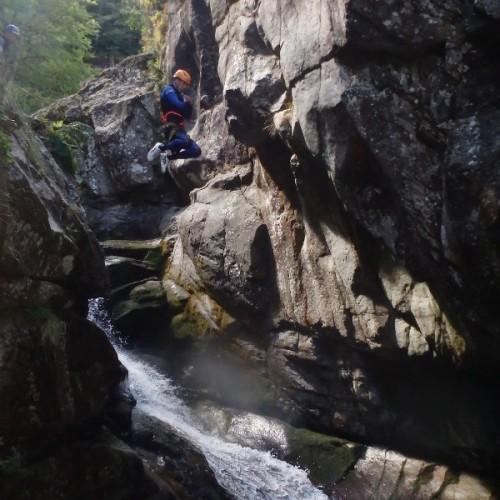 Canyoning En Cévennes Dans L'aigoual, Près Du Gard Et De L'Hérault, En Lozère