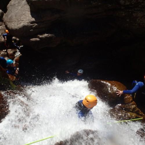 Canyoning En Cévennes Au Tapoul Dans Le Gard.