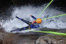 Canyoning Et Toboggan Dans Les Cévennes En Lozère Avec Les Monteurs De L'Héraulti