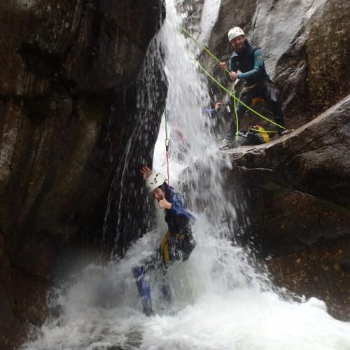 Canyoning Dans Les Cévennes Au Tapoul, Près De Saint-Jean Du Gard Et Anduze