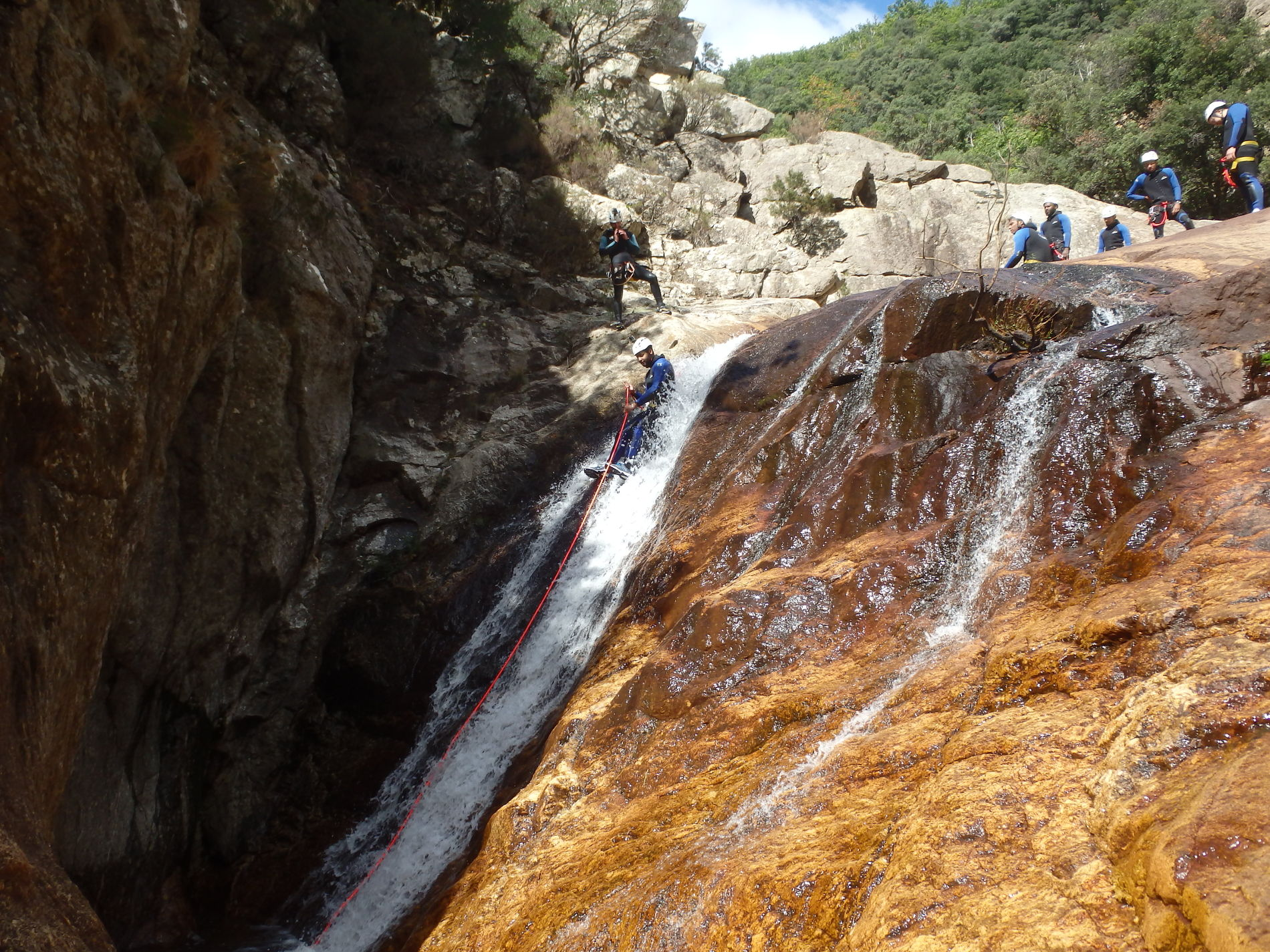 canyoning-rec-caroux-herault-initiation