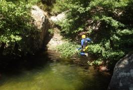 Canyon Du Rec Grand Au Caroux. Nature Et Découverte En Famille Ou Entre Amis