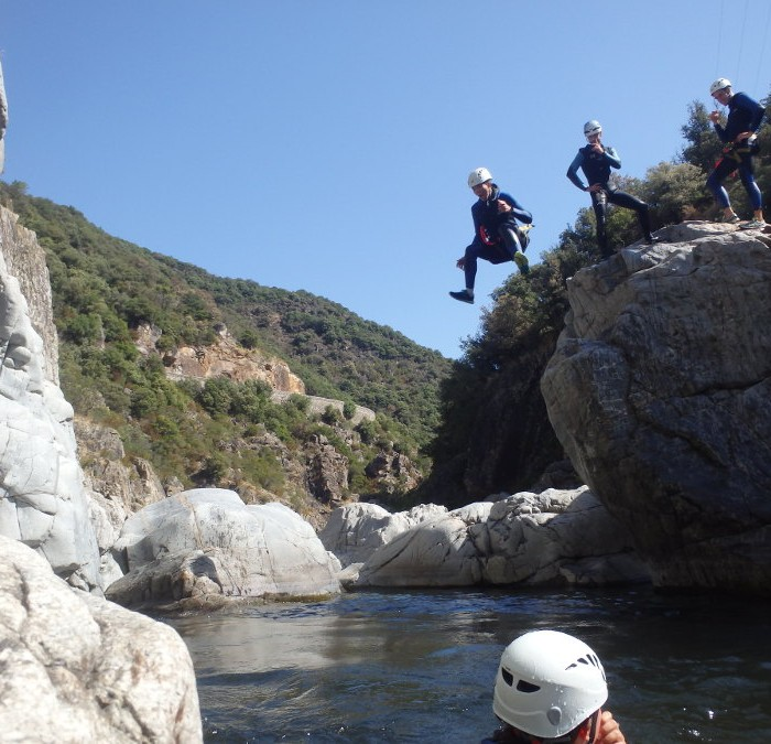 Canyon Du Soucy En Cévennes Dans Le Gard, Pour Une Initiation En Canyoning