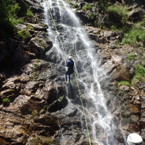 Canyon De L'Orgon En Cévenne, Près Du Vigan Dans Le Gard