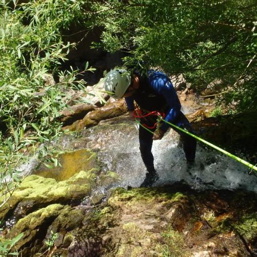 Canyon Et Rappels En Cévennes Dans Le Gard, Aux Cascades D'Orgon