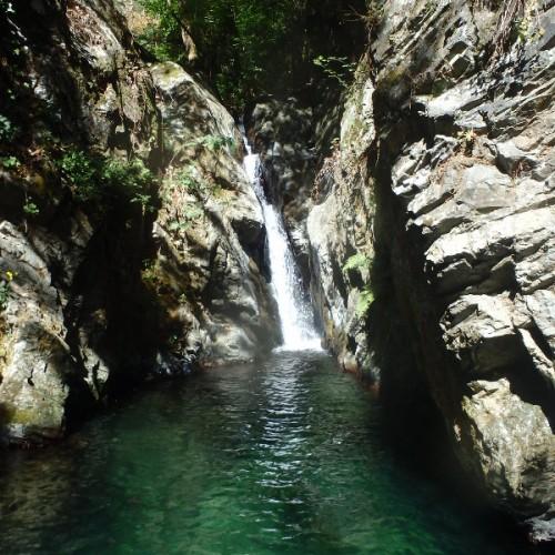 Canyon Sauvage Dans Le Caroux, Au Coeur Du Ruisseau D'Albès