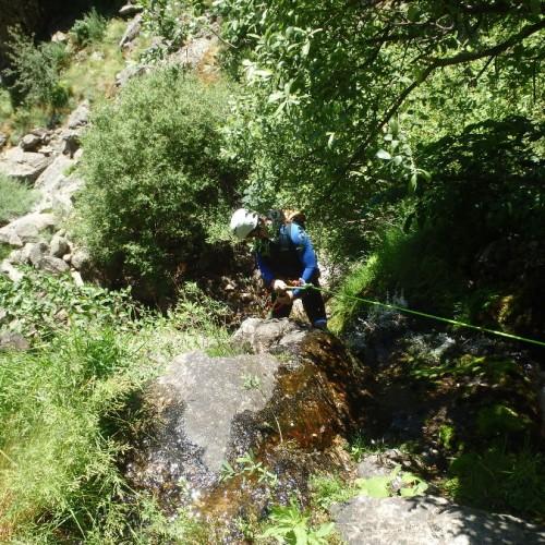 Canyoning Dans Les Cévennes Près De Montpellier Dans Le Gard Et L'Hérault Avec Nos Moniteurs De Pleine Nature