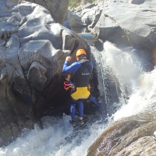 Canyoning En Cévennes Dans L'Hérault Près De Montpellier Et Nîmes En Languedoc