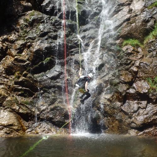 Canyoning Et Rappel Dans Les Cévennes Aux Cascades D'Orgon