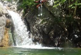 Canyoning Dans Le Gard Dans L'Orgon En Cévennes, Aux Frontières De L'Hérault