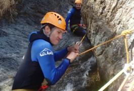 Canyon Du Ruisseau D'Albès Dans Le Caroux Et L'Hérault. Aventure Et Sensations.