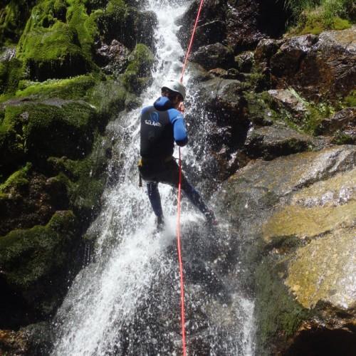 Rappel En Canyoning Dans Le Gard Au Mont Aigoual En Cévennes