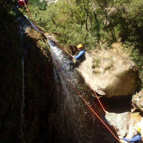Canyoning Et Rappel Dans L'Albès En Plein Coeur Du Caroux, Dans L'Hérault