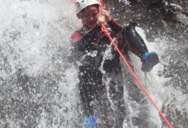 Canyoning Et Rappel Dans Les Cascades D'Orgon, En Cévennes Dans Le Gard