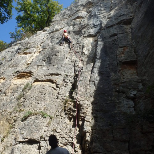 Escalade Dans Le Gard Et L'Hérault Près De Montpellier En Languedoc