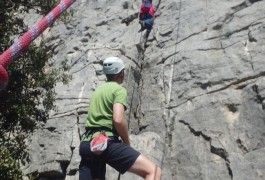 Escalade En Cévennes Dans L'Hérault Et Le Gard Près De Montpellier Et Ganged