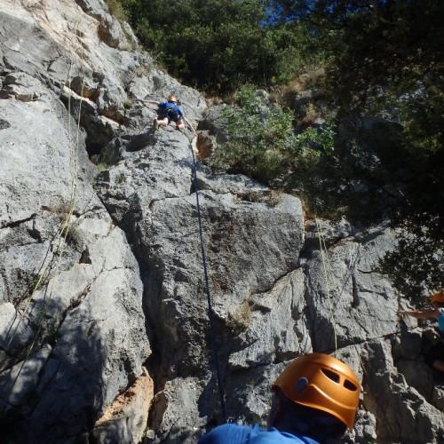Escalade Dans L'Hérault Et Le Gard Près De Montpellier En Languedoc