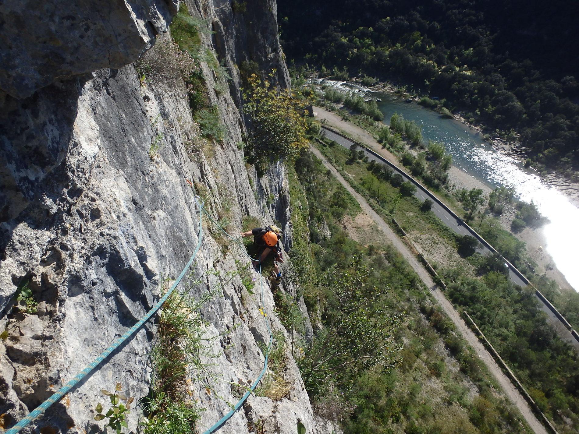 escalade-grande-voie-montpellier-herault