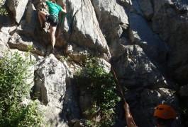Escalade Dans L'Hérault Et Le Gard En Initiation Pour Débutants