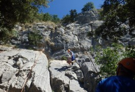 Escalade Dans L'Hérault Près De Montpellier En Cévennes Dans Le Languedoc